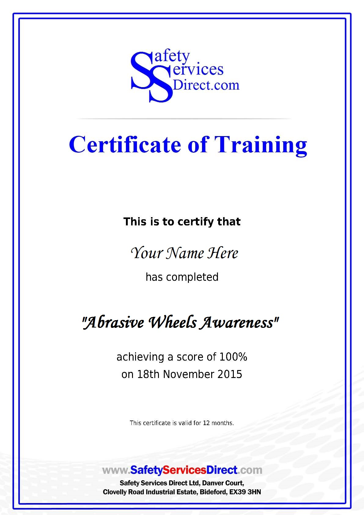 Safety training certificate template fieldstation safety training certificate template 1betcityfo Gallery